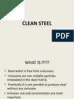 CLEAN STEEL