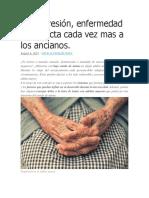 Depresion en ancianos