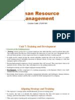 Human Resource Management UNIT 7