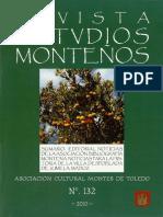 Revista de Estudios Monteños Boletín de La Asociación Cultural Montes de Toledo 2010 n.º 132