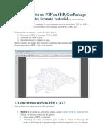 Cómo convertir un PDF en SHP.docx