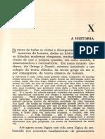 CASSIRER, Ernst. Historia - Ensaio Sobre o Homem - Pag 271 a 293