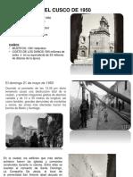 Cusco Terremoto 1950
