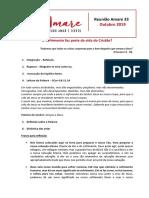 Reunião Amare 33  Outubro 2019.docx
