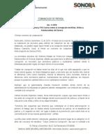 12-11-19 Promueven Sipinna y FAS lucha contra la corrupción en Niñas, Niños y Adolescentes de Sonora