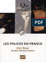 Alain Bauer - Les Polices en France