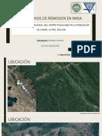 MOVIMIENTO TRASLACIONAL DEL CERRO PUCALOMA EN LA POBLACIÓN  DE CHIMA