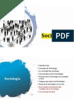 1. Sociología general