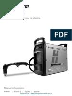 Hypertherm PowerMax125 Manual de Operador Rev2