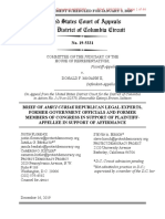 Brief of Amici Curiae Republican Legal Experts, Former Government Officials, and Former Members of Congress in Support of Plaintiff-Appellee in Support of Affirmance