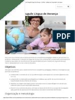 Didática Do Português Língua de Herança - Camões