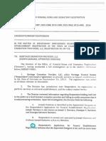 Order of Summary Suspension