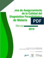 Sistema Aseguramiento Diagnostico Malaria