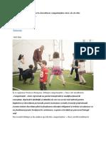 Contribuția Educației Fizice La Dezvoltarea Competențelor