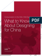 Artefact Designing for China
