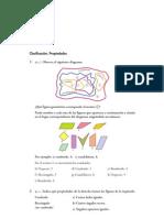 Matematicas Resueltos (Soluciones) Cuadriláteros 1º ESO