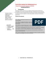 Guía Instruccional Informe Unidad No.3 Emprendimiento