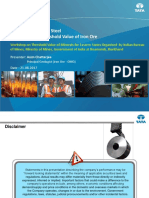 Presentation on Iron by Tata Steel