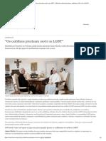 ″Os Católicos Precisam Ouvir Os LGBT″ _ Notícias Internacionais e Análises _ DW _ 04.10.2019