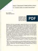 [FORMAN] A cultura de Weimar, a causalidade e a teoria quântica, 1918-1927