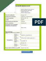 Evaluacion Inicial Decreto 1072