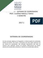 TOPOGRAFIA I  - SISTEMAS DE COORDENADAS