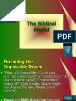 Biblical Model pt 3 CSLI