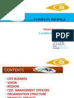 CIFS Company.. Artificial..
