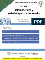 Capítulo 1 Analisis de sistemas