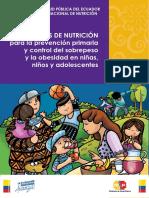 Control de Sobrepeso y Obesidad en Niños y Adolescentes