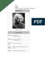 Lo Mas Preciado de Einstein