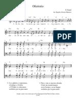 Rangel - Ofertorio (Dm) 4 Vm