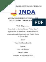 Proyecto Jnda Cyber Comedor
