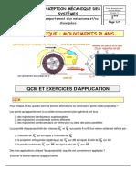Mouvements plans-exercices-élève