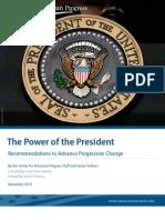Power of the President Advancing Progressive Change November 2010