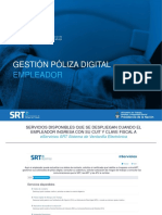 Gestión póliza digital - SRT