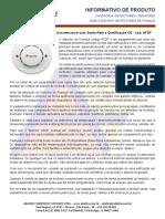 Abafire - Detector Óptico de Fumaça - 2 Fios