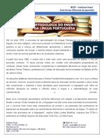 3 Metodologia de Ensino de Língua Portuguesa