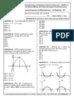 prova função quadrática
