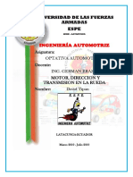 MOTOR,DIRECCION YTRANSMISION EN LA RUEDA