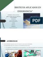 Antibioticos en Endodoncia