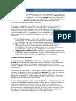 AMBIENTE DE TRABAJO EN WINDOWS.doc