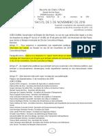 06.11.19 Decreto 64570 Suspensão de Expediente Dia 20 -Municípios Com Lei Sobre Consciencia Negra