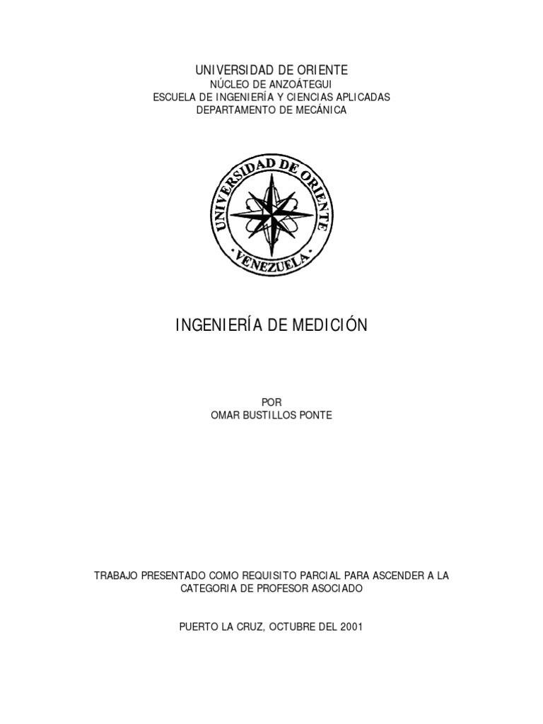 INGENIERIA DE MEDICION