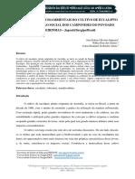 IMPLICAÇÕES SOCIOAMBIENTAIS DO CULTIVO DE EUCALIPTO Japoatã Sergipe Brasil