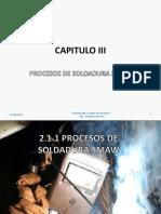 Capítulo III-Procesos de Soldadura SMAW