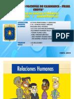 DIAPOSITIVAS DE RELACIONES HUMANAS