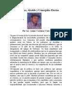 Bendiciones, Alcalde y Concejales Electos,doc