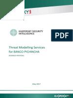 BANCO PICHINCHA Kaspersky - Threat Modelling - Proposal NOV 2017.docx