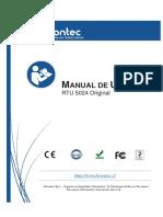 Manual usuario RTU 5024